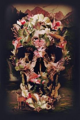 Jungle Skull - Fine Art Print