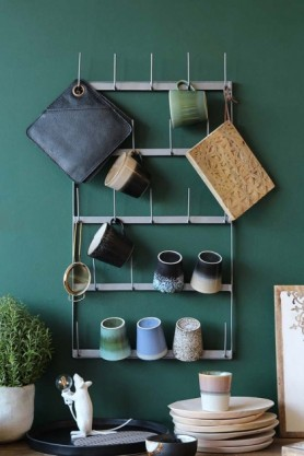 Kitchen Rack for Cups, Mugs & Glasses