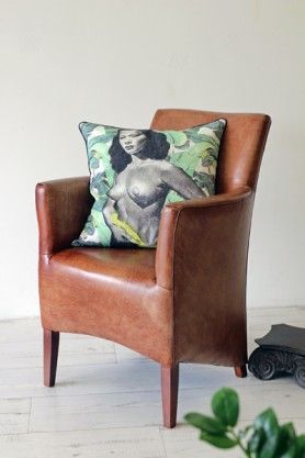 Little Leather Armchair