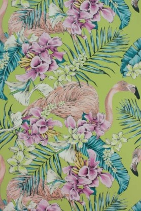 Matthew Williamson Flamingo Club Wallpaper