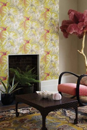 Matthew Williamson Birds of Paradise Wallpaper - 4 Colours Available