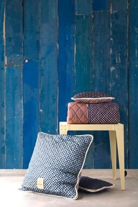 PHM-36 Blue Scrapwood Wallpaper By Piet Hein Eek