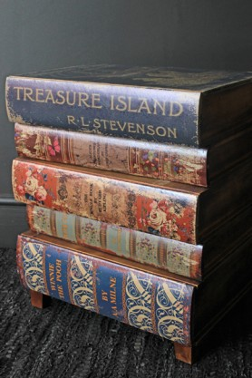 Treasure Island Book Chest of Drawers / Bedside Table