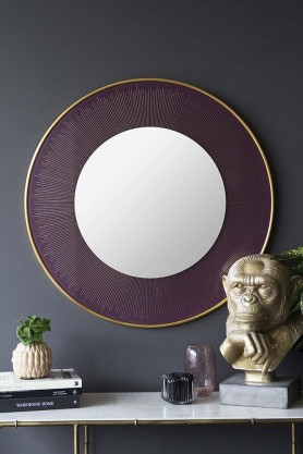 Round Berry Blast Revival Mirror