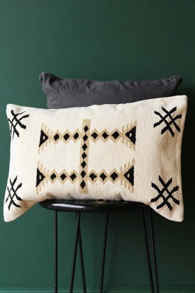 Aztec Design Chenille Cushion