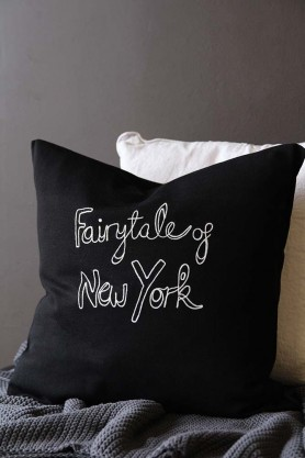 Bella Freud Merino Wool Fairytale of New York Cushion
