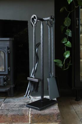Black Fireside Tool Set