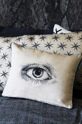 Mind's Eye Silk Cushion