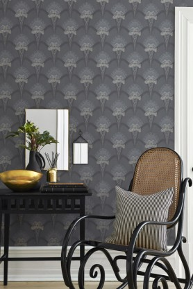 BorasTapeter - Jubileum - Lilja Wallpaper - 3 Colours Available