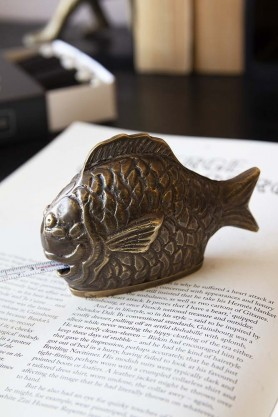 Brass Effect Fish Tape Measure