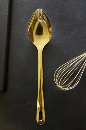 Gold Kitchen Utensil - Spoon