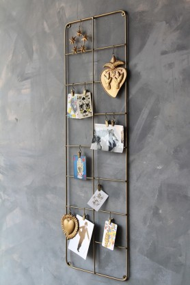 Tall Brass Wall Frame