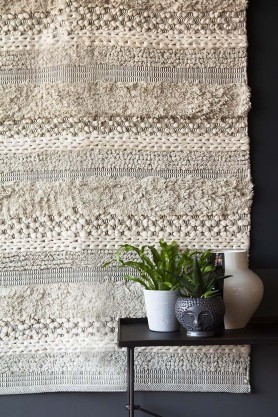 Casablanca Natural Moroccan-Style Cotton Rug