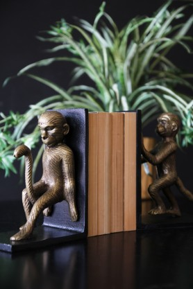 Cheeky Monkey Bookends