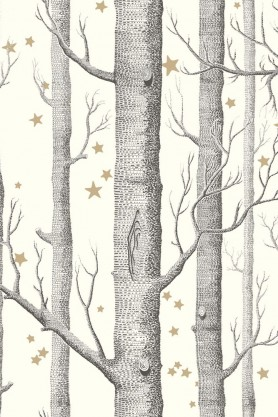 Cole & Son -  Whimsical Collection - Woods & Stars  - Natural