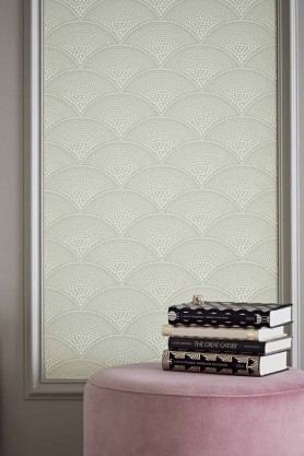 Cole & Son - Icons Collection - Feather Fan Wallpaper - 5 Colours Available