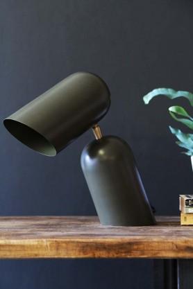 Como Short Circuit Style Desk Lamp - Olive Green