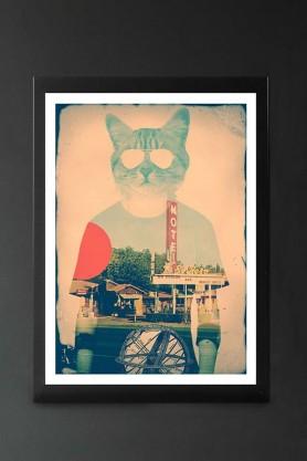 Cool Cat - Art Print