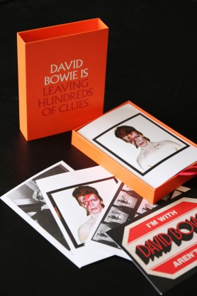 David Bowie Is Leaving Hundreds Of Clues Postcard Collection
