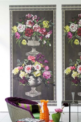 Designers Guild Wallpaper - Zephirine Collection - Ornamental Garden Panel Print