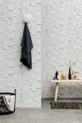 Eco Wallpaper - Front Dots - 2 Colours Available