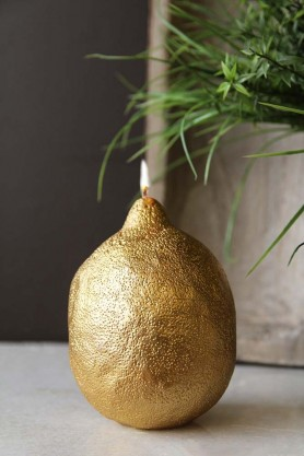 Fabulous Gold Lemon Candle