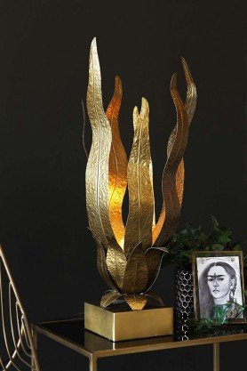 Flame Table Lamp