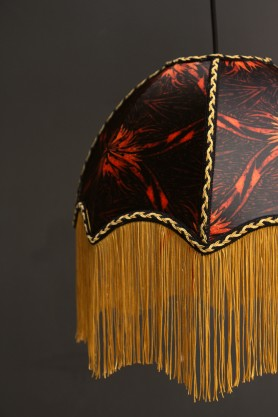 Anna Hayman Designs DecoFabulous Orange Talon Lamp Shade