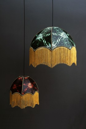 Anna Hayman Designs DecoFabulous Orange Talon Pendant Shade
