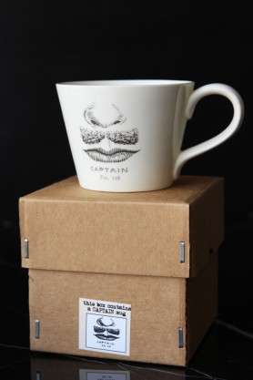 The Captain Handmade Mug & Gift Box