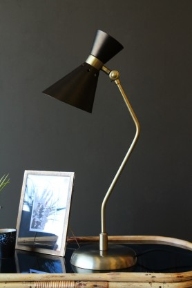 Grace Black & Gold Table Lamp