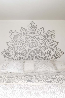 Holy Mandala Stencil For Walls & Floors
