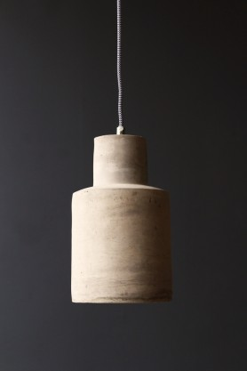 Industrial Concrete Ceiling Pendant Light