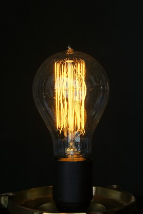 Large B22 40W Edison Squirrel Cage Light Bulb