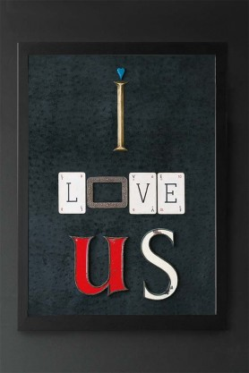 I Love Us Art Print