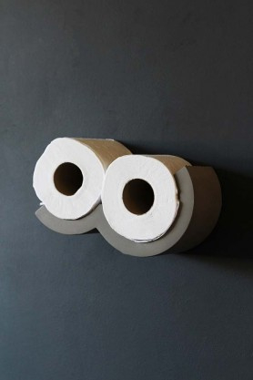 Lyon Beton Concrete Cloud Toilet Roll Shelf - XS