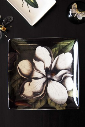 Large Magnolia Trinket Tray