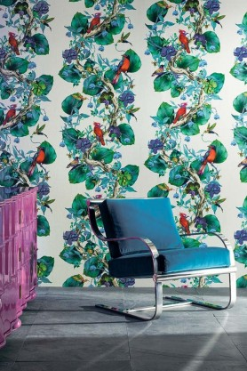 Osborne & Little - Rain Forest Wallpaper - 2 Colours Available