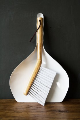 Bamboo Dustpan & Brush