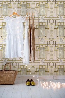 Mind The Gap Wallpaper Collection - Metropolis Collection - Glamour