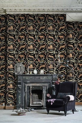 Mind The Gap Wallpaper Collection - The World Of Antiquity - Fresce - Anthracite
