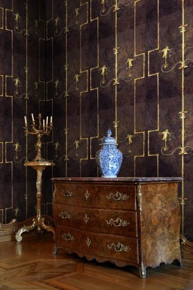 Mind The Gap Wallpaper Collection - The World Of Antiquity - The Swan - Dark