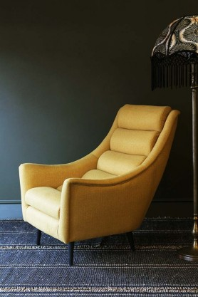 Jive Herringbone Tweed Armchair