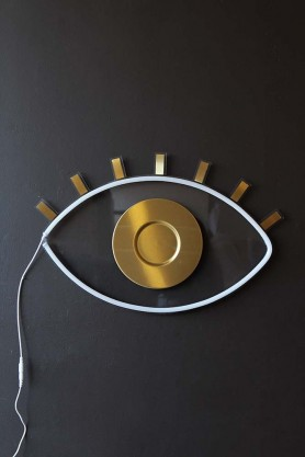 Oculus Eye LED Neon Wall Art