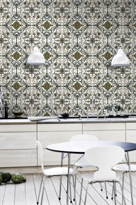 Mind The Gap Wallpaper Collection - Organic Tile