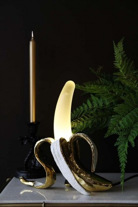 Peeled Banana Table Lamp