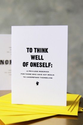 Pessimistic Greetings Cards