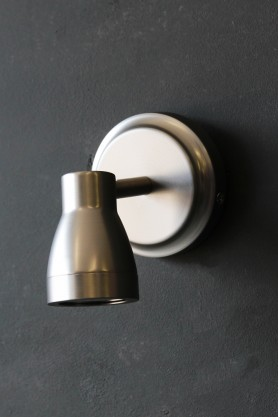 Putney Bathroom Spot Light - Satin Nickel