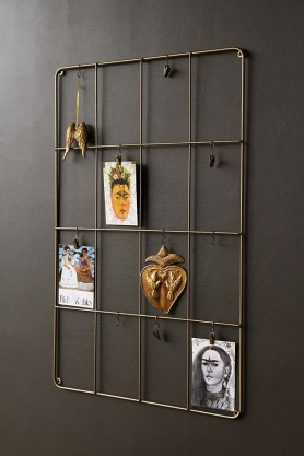 Rectangular Brass Wall Frame
