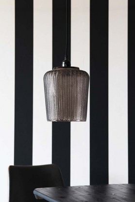 Martina Smoked Glass Pendant Light